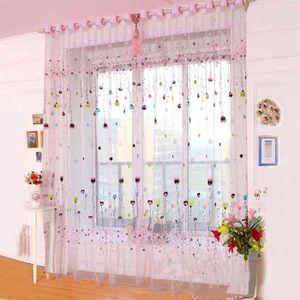 double rideaux couleur rose achat vente double rideaux couleur rose pas cher soldes d s. Black Bedroom Furniture Sets. Home Design Ideas