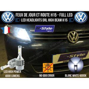 AMPOULE TABLEAU BORD Ampoules LED H15 - Volkswagen Touran 1T3