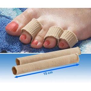 SOIN ORTHOPÉDIQUE 2 tubes protege-orteils 15cm
