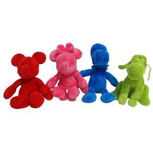 PELUCHE Lot de 4 Peluches Mickey et ses Amis - 20 cm