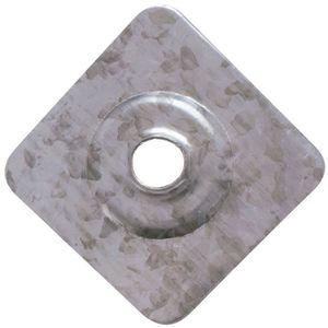 EQUERRE - ASSEMBLAGE Plaquette pour plaque fibre ciment L40mm l40mm Ep8