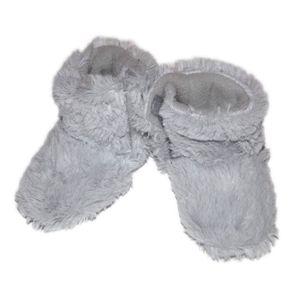 CHAUSSON - PANTOUFLE Bottes souples bébé, grises. Tai...