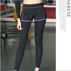 PANTALON DE SUDATION Femme sport pantalons Capri Jogging YOGA leggings-