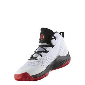 adidas D Rose 4 Hommes Bordeaux Chaussures Baskets de Sport