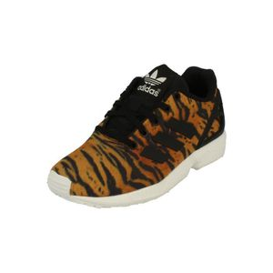 competitive price fce9c 44507 BASKET Adidas Originals Zx Flux Kids Trainers Sneakers ...