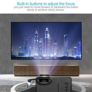 Vidéoprojecteur Mini Mini HD 1080P LED Portable Projecteur Multimé