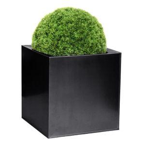 cache pot cube achat vente cache pot cube pas cher cdiscount. Black Bedroom Furniture Sets. Home Design Ideas