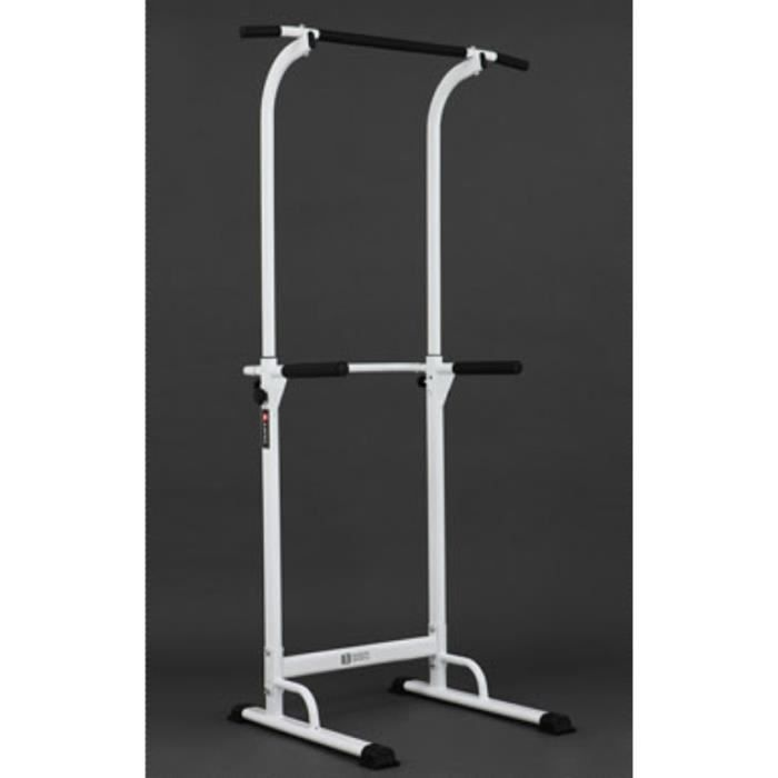 Barre De Traction Ajustable Station Musculation Dips Station Chaise