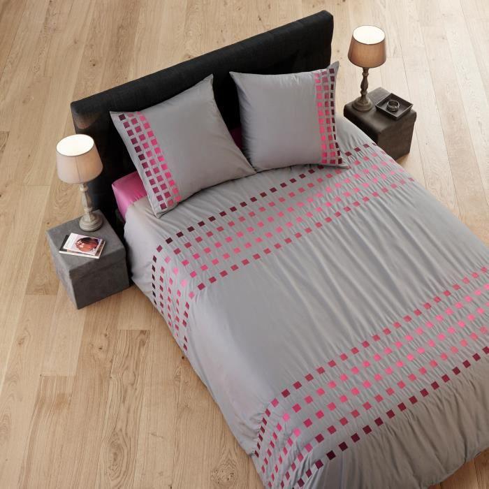 parure 180x200 achat vente parure 180x200 pas cher soldes d s le 10 janvier cdiscount. Black Bedroom Furniture Sets. Home Design Ideas
