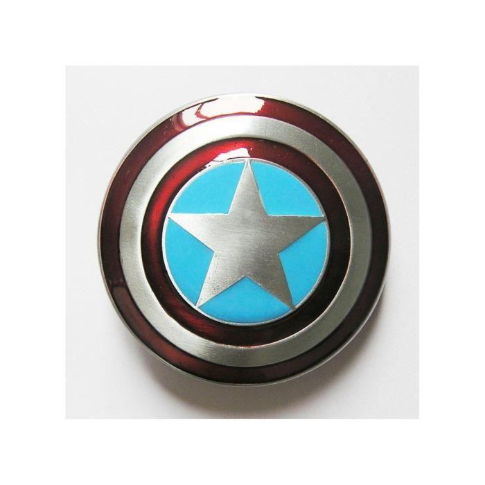 11de36f6613 Boucle de ceinture bouclier de captain america homme femme - Achat ...