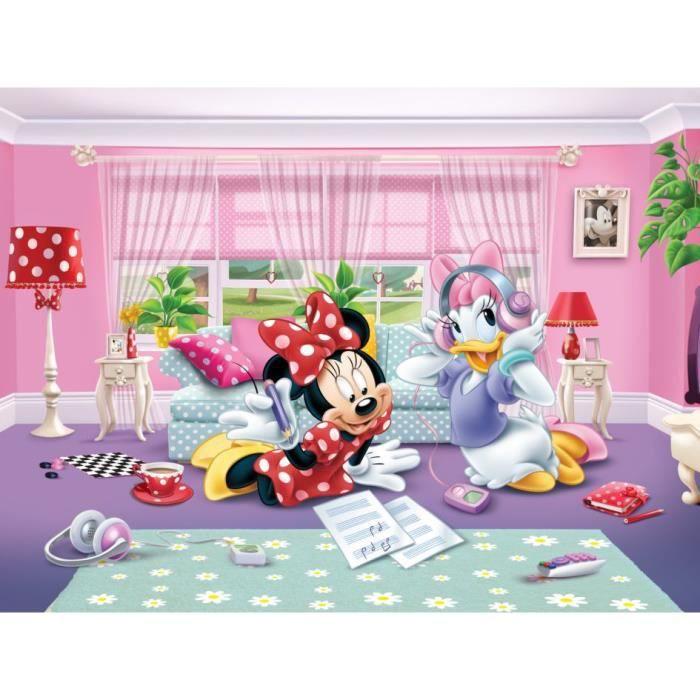 Papier peint XXL Minnie et Daisy Disney - Achat / Vente papier peint ...