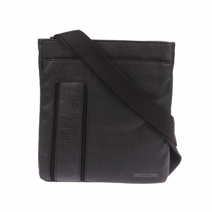 df11f4ef89 Calvin Klein Jeans - sacs et besaces Noir - Achat / Vente besace ...