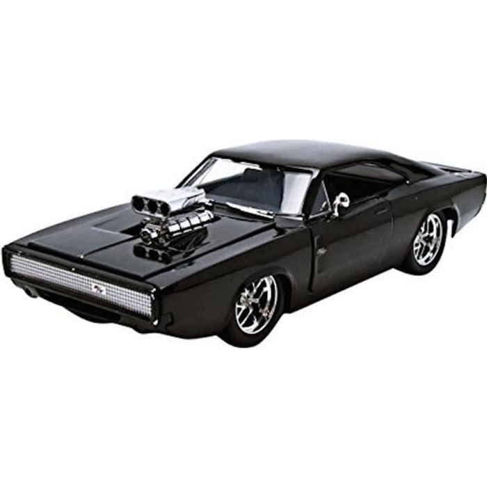 dodge charger r t fast and furious 7 chelle 1 24 achat vente voiture camion cdiscount. Black Bedroom Furniture Sets. Home Design Ideas