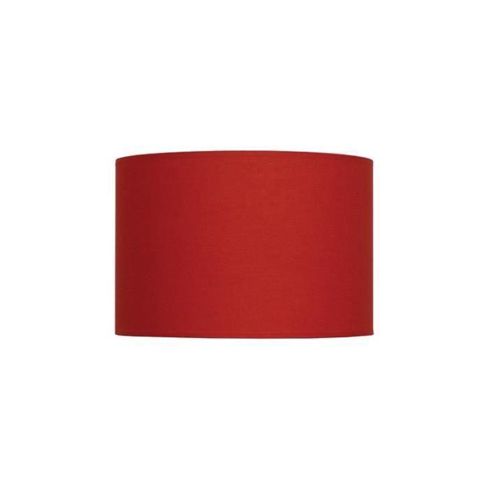 Abat-jour cylindre rouge 50 cm - Achat / Vente Abat-jour cylindre ...
