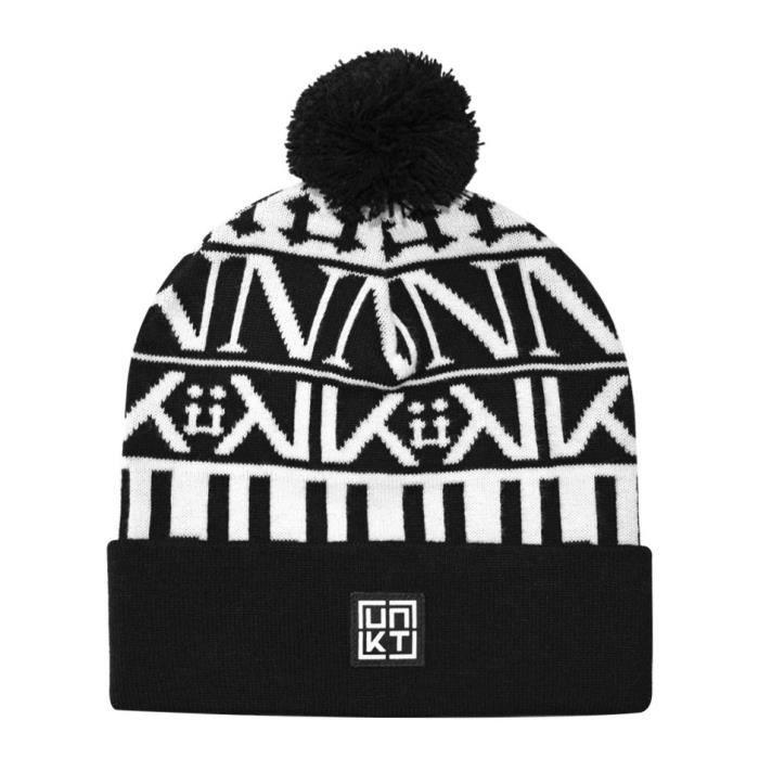 large choix de couleurs et de dessins marque célèbre moderne et élégant à la mode Bonnet Unkut Font Noir Noir - Achat / Vente bonnet - cagoule ...