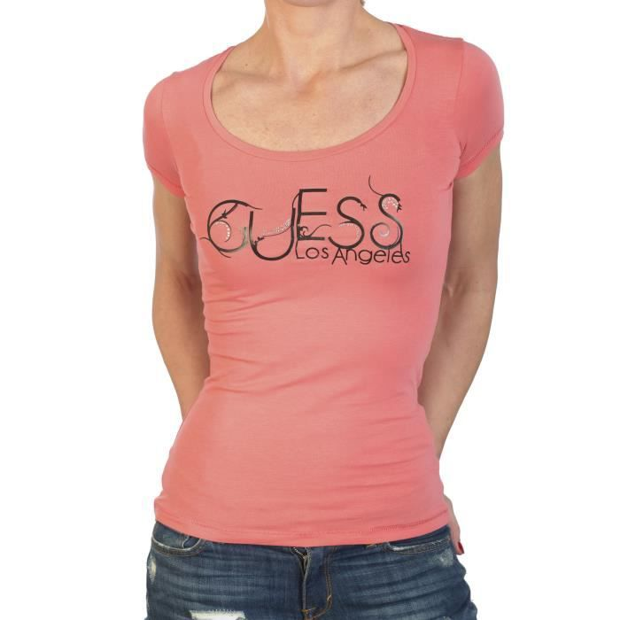 T-SHIRT T-Shirt Guess Femme Manche Courte