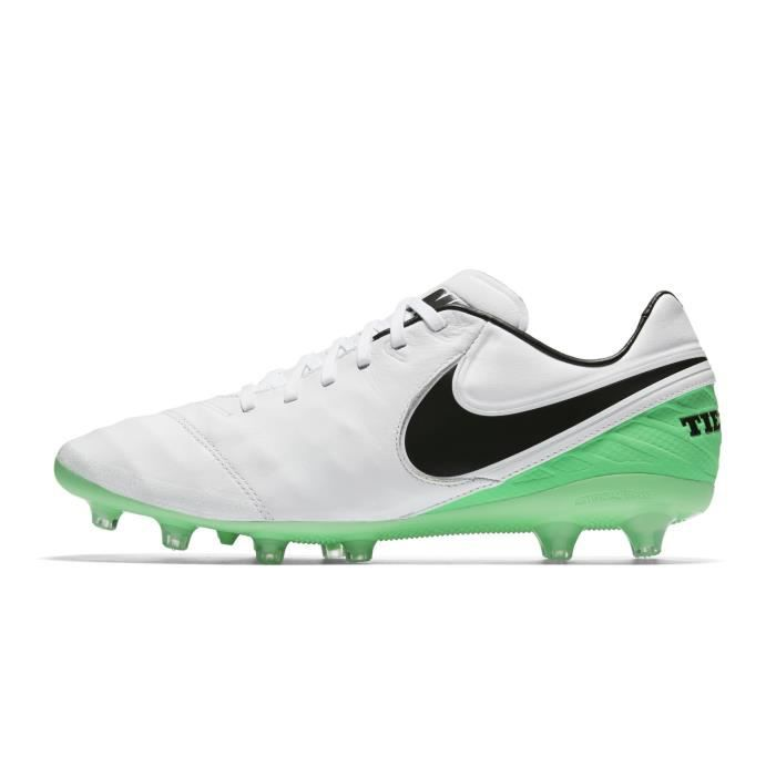 newest 0d76e 72d03 Chaussures football Nike Tiempo Legacy II AG-PRO Blanc/Vert - Prix ...