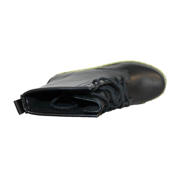 boots doc noire mat