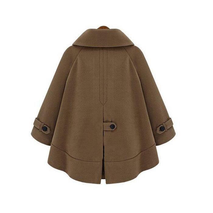 Vêtements Chaude Caban Hz Femme Nouveau Veste nz3001 Marron 544ctWqxZn