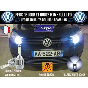 AMPOULE TABLEAU BORD Ampoules LED H15 - Volkswagen Golf 6