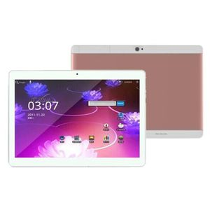 TABLETTE TACTILE OR ROSE 10.1 Pouces Tablette PC Mic WIFI Android 6