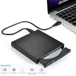 LECTEUR - GRAVEUR EXT. JRing® Mellifluous Graveur DVD Externe USB 20 CD D