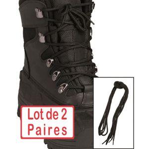 LACET  Chaussure Lot de 2 paires de Lacets 140 cm coton N