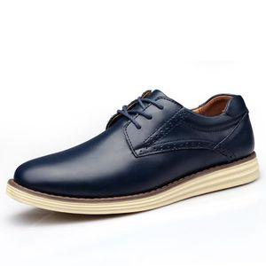 MOLIÈRE hommes occasionnels chaussures en cuir véritable m