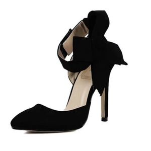 ESCARPIN Mode Grande Taille Chaussures Femme Sexy Gros Nœud