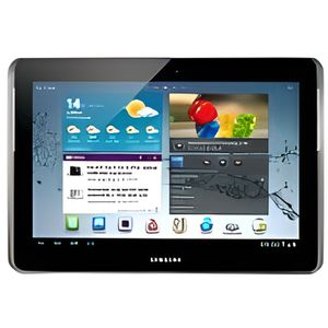 TABLETTE TACTILE Samsung Galaxy Tab 2 10.1 3G + Wi-Fi, 16 Go Argent