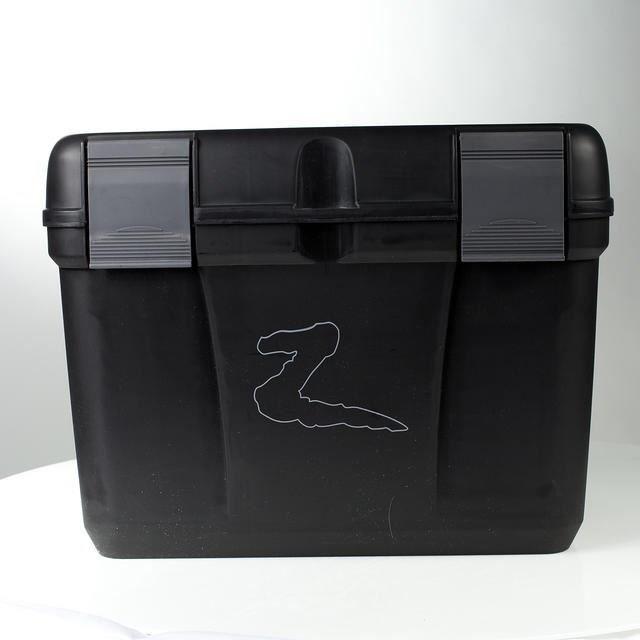 HORZE Coffre de pansage pour chevaux Smart  - L 40,8 x P 30 x H 29,5cm - Noir