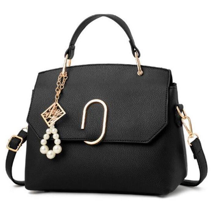 sac cuir Sac Femme De Marque De Luxe En Cuir sac à main femme de marque Sacs Sacs À Main Femmes Célèbres Marques sac cuir noir