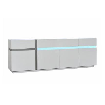 bahut laque blanc 4 porte achat vente bahut laque blanc 4 porte pas cher cyber monday le. Black Bedroom Furniture Sets. Home Design Ideas
