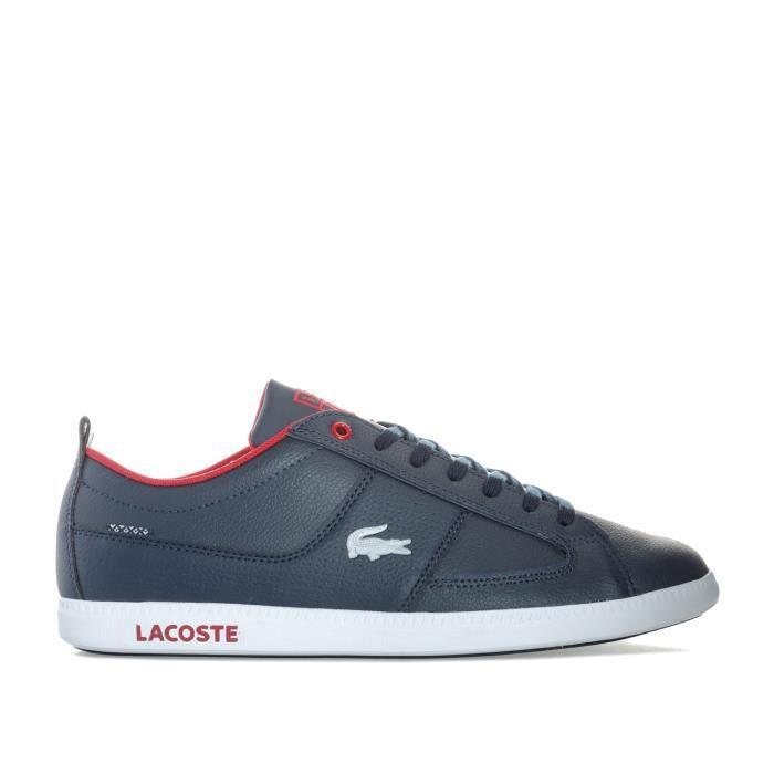 ef395e25518d6 Lacoste Homme Chaussures / Baskets Misano Sport I Blanc Blanc - Achat /  Vente basket - Soldes* dès le 27 juin ! Cdiscount GH8HUA1Z -  destrainspourtous.fr