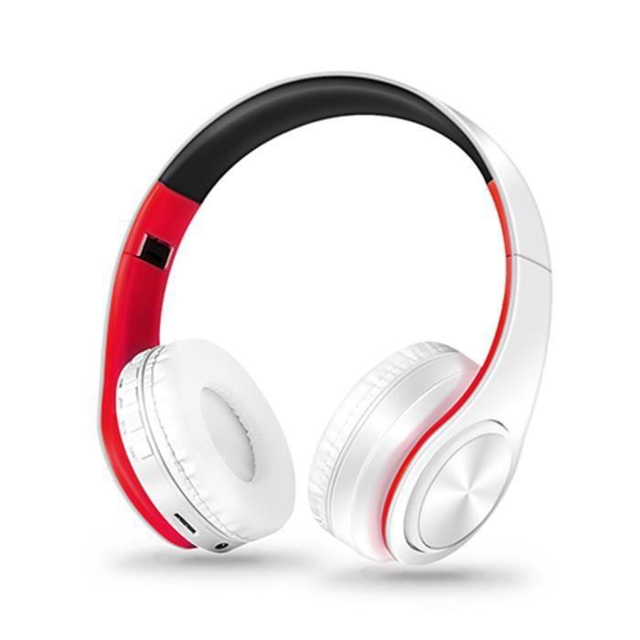 Nouvelle Arrivée Stéréo Audio Mp3 Bluetooth Casque Sans Fil Pliable