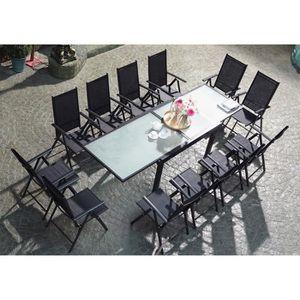 Salon de jardin 12 personnes - Achat / Vente pas cher