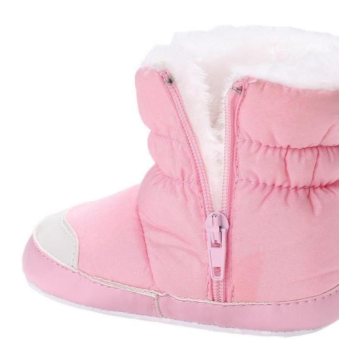 Et Fille Gift Bébé Marche Garçon Hiver Premier Chaussures Pas Chaud Boots Tower Velours H66qIRY