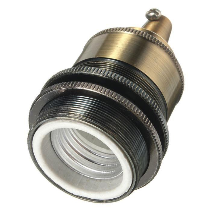 Douille 110 Titulaire Edison Neufu Ampoule D'ampoule Sans Doré Rétro E27 220v Céramique UR4UqwtS