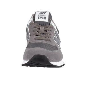wholesale dealer 56483 4ffc5 ... BASKET New Balance Homme 574 Baskets en daim, Gris. ‹›