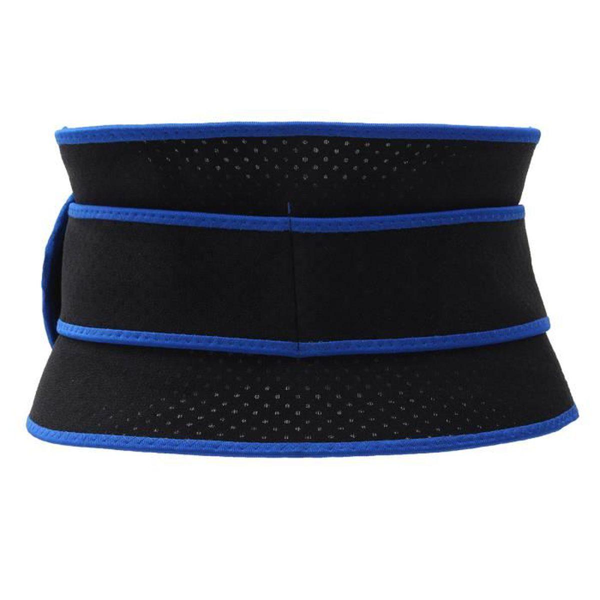 Ceinture Lombaire Soutien Dos Soulager Douleur Posture Noir Bleu ... cab0eed5a18