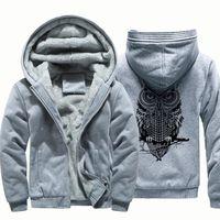 SWEATSHIRT Sweat à capuche pour hommes d'hiver chaud en polai