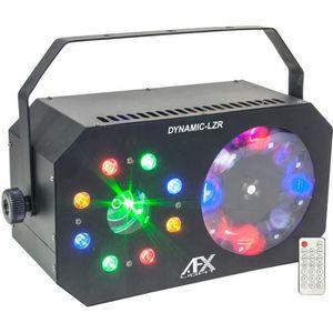 PACK LUMIÈRE Jeux de lumière AFX - Dynamic-Lzr Triple effets av