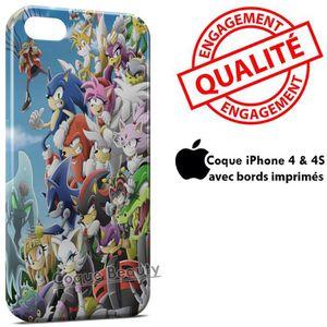 COQUE - BUMPER Coque iPhone 4 & 4S Sonic 4