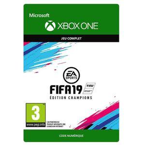 JEU XBOX ONE À TÉLÉCHARGER FIFA 19 Champions Edition Xbox One à télécharger