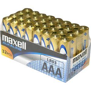 PILES MAXELL - Piles LR03 AAA Pack de 32 - 790260