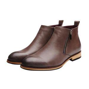 Derbies Homme En Cuir Nouvelle Mode Qualité SupéRieure Chaussures Cool Chaussures Rétro Super Confortable 40-44 EJNjdpe