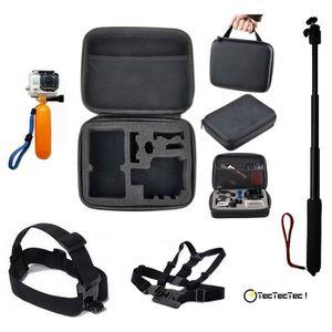PACK ACCESSOIRES PHOTO TecTecTec Kit d'accessoires pour caméras d'action: