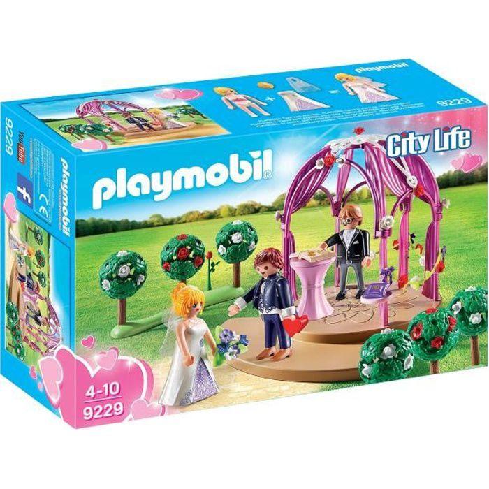 playmobil city life mariage