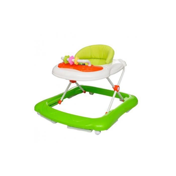 Trotteur Vert Pour Bébé Avec Tablette Activités Achat Vente