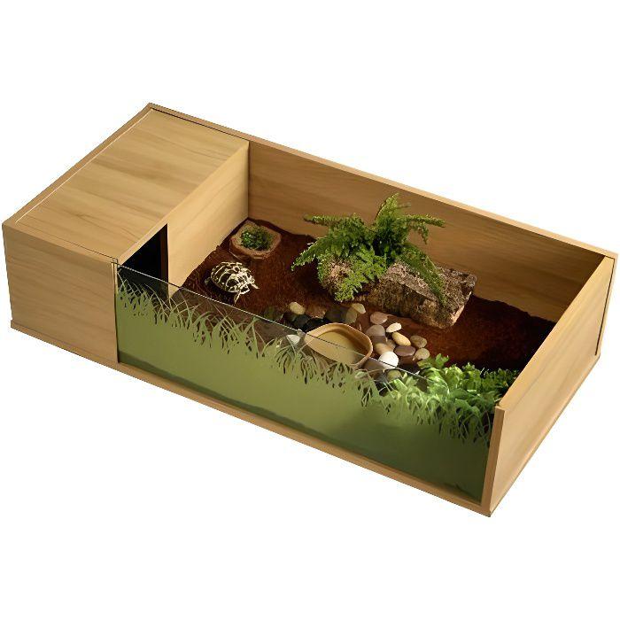 parc tortue 90x45x21 cm achat vente vivarium terrarium parc tortue 90x45x21 cm cdiscount. Black Bedroom Furniture Sets. Home Design Ideas